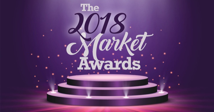 The 2018 Market Awards Logo