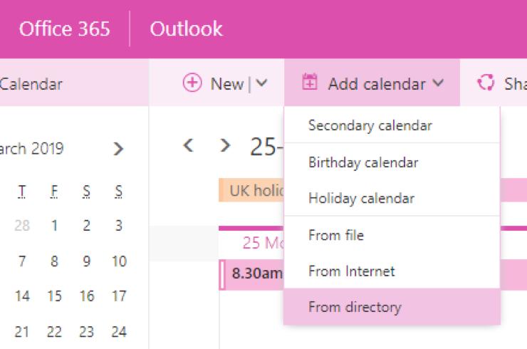 Adding other calendars