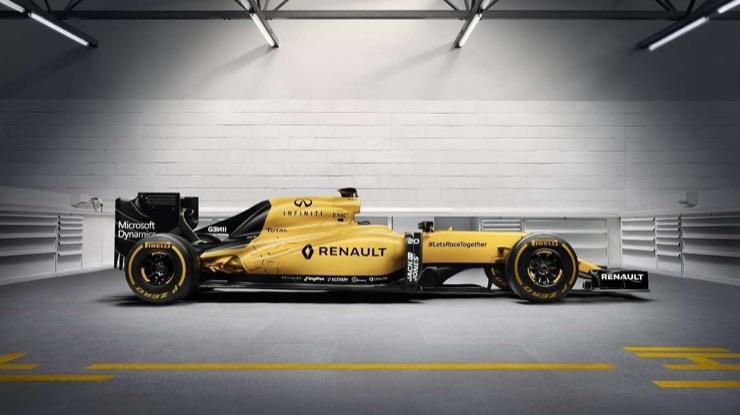 Renault sport car