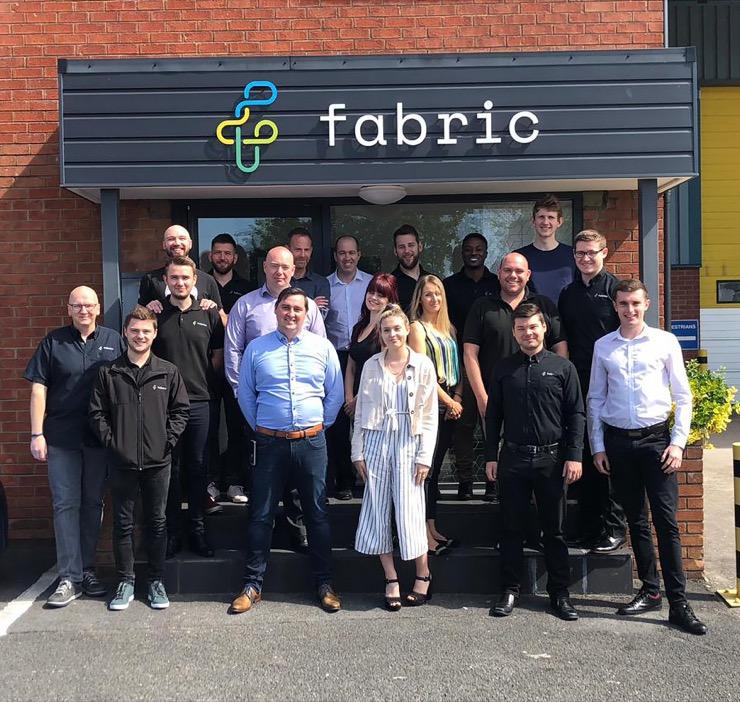 Fabric Family Photo