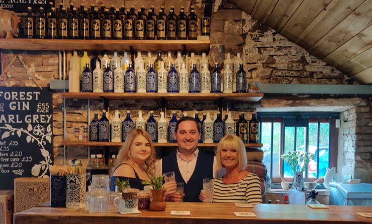 Fabric IT and North Cheshire Chamber of Commerce at Macclesfield Forest Gin Bar