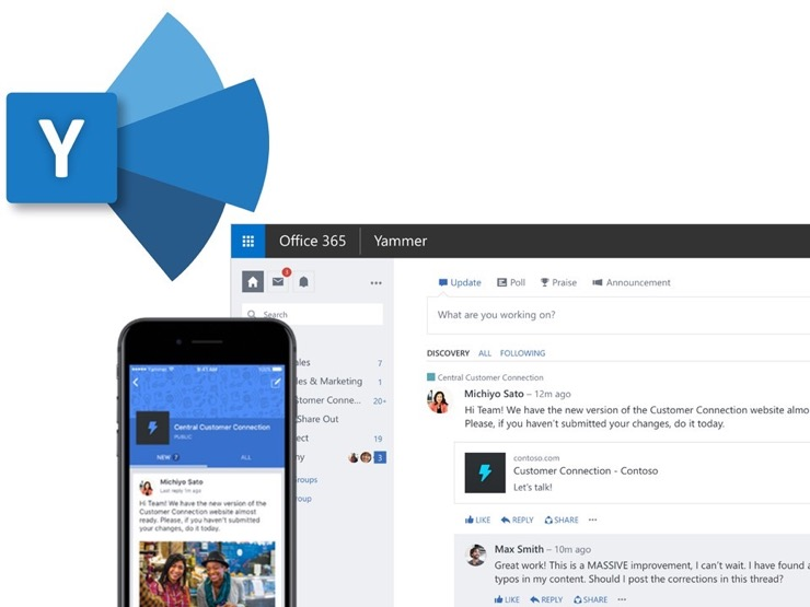 Yammer Featured Image