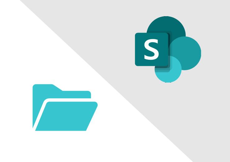 SharePoint v file server