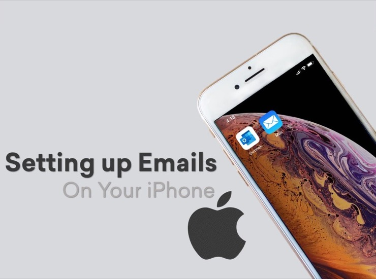 Setting up email on your iPhone