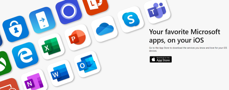 Microsoft Apps for IOS