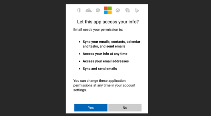Step 4 confirm settings and permissions