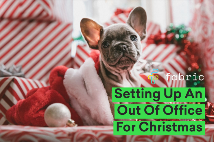 Christmas Out of office