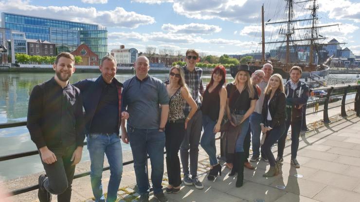 Dublin group photo