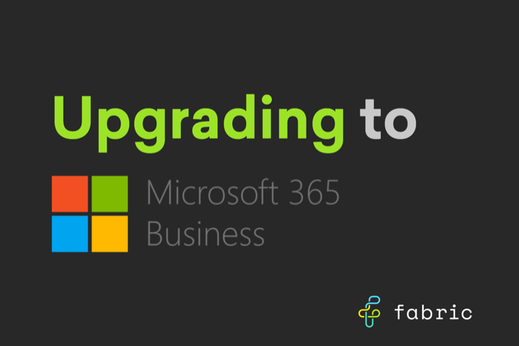 Upgrade to microsoft 365